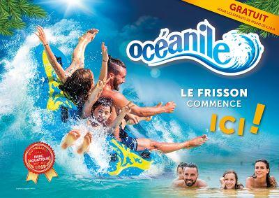 parc aquatique oceanile tarif ouverture horaire