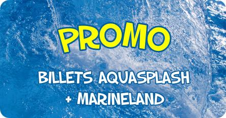 promo billet aquasplash marineland antibes moins cher