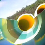 video toboggan aqualand arcachon gujan mestras