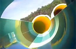video toboggan aqualand arcachon gujan mestras